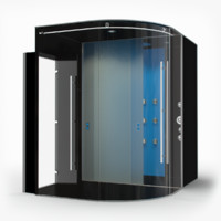 3d shower cabin hall