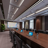 conference interior room 3d max