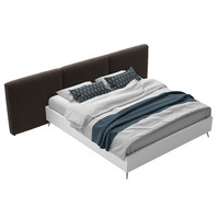 boconcept lugano bed 3d model