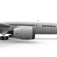 free 3ds model boeing 787 8 1