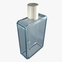 small bathroom glass 3d max