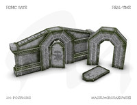 building architecture obj free