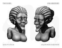 free human woman 3d model