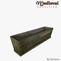 3d model trough simple ready