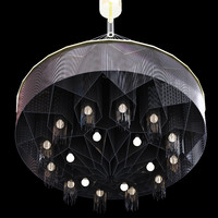Willowlamp MANDALA BLACK DIAMOND