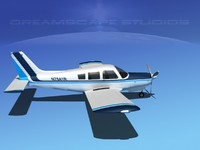 propeller piper cherokee 3d 3ds