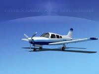 3dsmax propeller piper cherokee arrow
