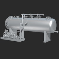 3d industrial equipment model