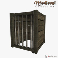 3d animal cage