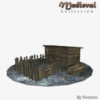 corral ready medieval 3ds