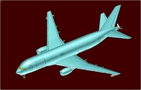 kc-46 multipurpose transport aircraft 3ds