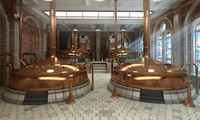 brewery 3d max