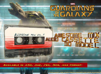 3d guardians galaxy awesome mix