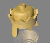 dxf lego king crown