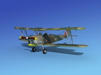 lightwave tiger moth dehavilland