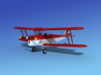 3d tiger moth dehavilland