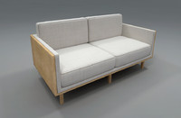 couch sofa 3d model