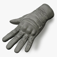 3d glove tactical model