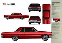 3d chevrolet impala model