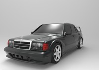mercedes-benz 190e evolution ii 3d max