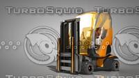 forklift truck 3d c4d