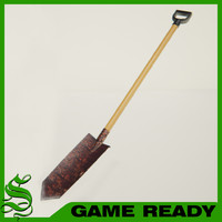 max short trench shovel