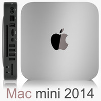 3d model apple mac mini late