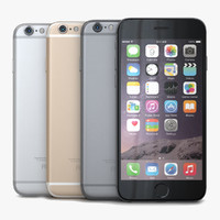 3d apple iphone 6 colors