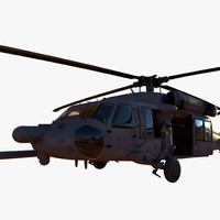 3d model blackhawk black hawk