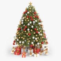 maya modern christmas tree