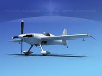 3d extra flugzeugbau ea300 300s model