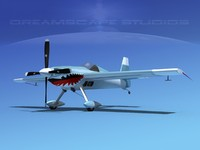 3d model extra sport flugzeugbau ea300