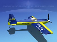 3d 3ds extra sport flugzeugbau ea300