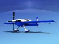 extra sport flugzeugbau ea300s 3d model