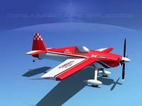 extra sport flugzeugbau ea300s 3d 3ds