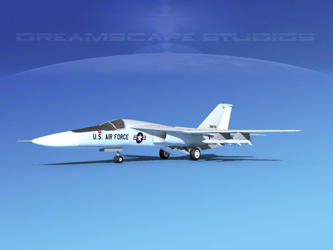 general f 111 aardvark bomber 3d max