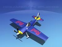 extra flugzeugbau ea300 300s 3d max