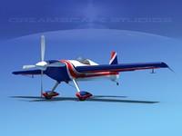 3d extra sport flugzeugbau ea300 model