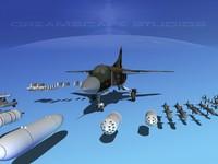 3d model mig-23b flogger mig-23 fighter