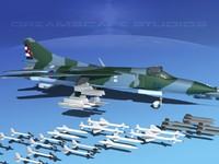 3ds max mig-23 flogger b fighter