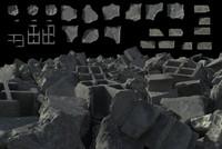 Ruin Debris Set 001