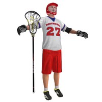lacrosse player 3d max