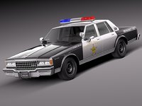 car 1978 chevrolet 3d obj