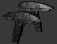 assault phaser 3d model