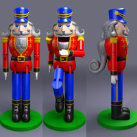 3d max nutcracker nut cracker