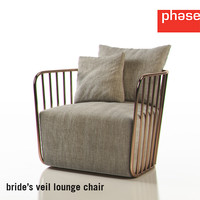 Phase Bride's Veil Lounge Chair