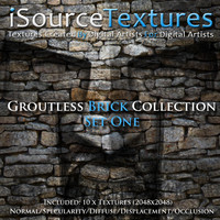 Groutless Brick Collection - Set One