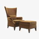 Wingback Chair 3D models