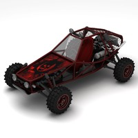 buggy 3d max