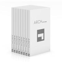 book set architecture 3d max